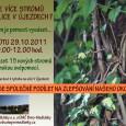 Přijďte pomoci vysázet 15 nových stromů podél ulice V Újezdech. Úřad městské části je zakoupí a my, obyvatelé Kouzelných Medlánek, je vysadíme.