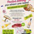 Od 20. 7. 2015 na zastávce MHD V Újezdech PO – ST – PÁ 14.30 – 19:00 Více info ZDE.