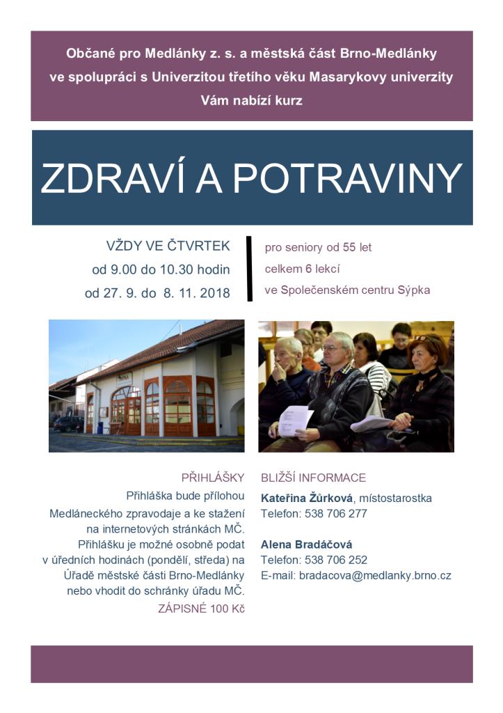 Plakátek_Zdraví a potraviny_Medlánky_2018A